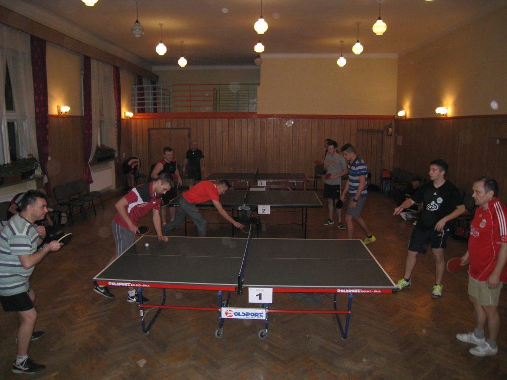 IV Osiedlowy turniej tenisa stołowego
