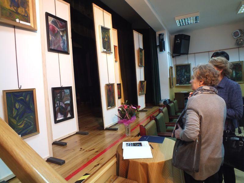 Wystawa obrazów Andrzeja Brągla